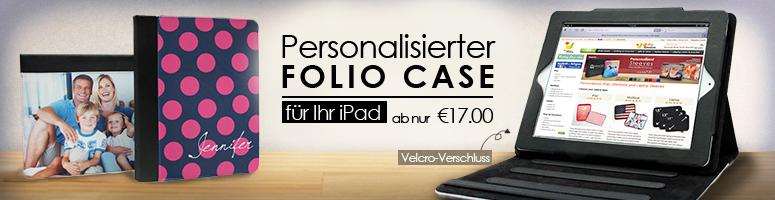Personalisierter iPad Folio Case