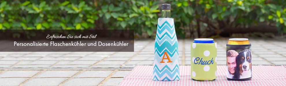 Flaschenkühler und Dosenkühler selbst gestalten