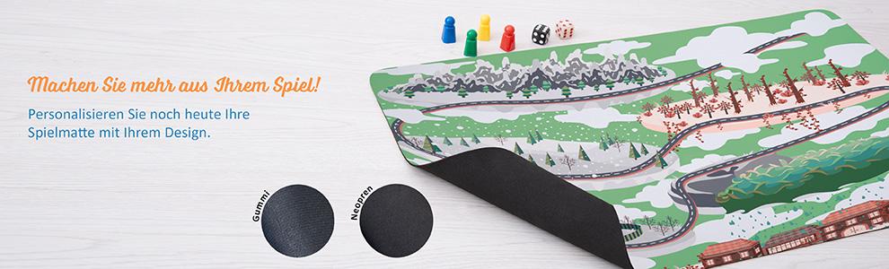 Personalisierte Spielmatte
