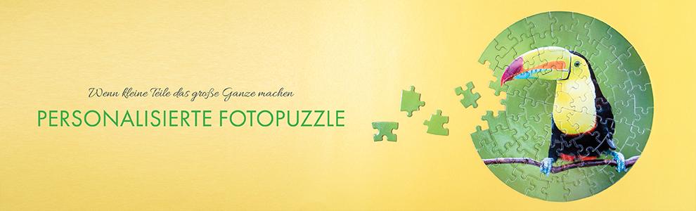 Personalisiertes Rundes Foto-Puzzle