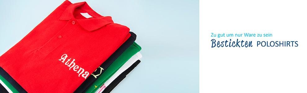 Besticktes Poloshirt Personalisieren