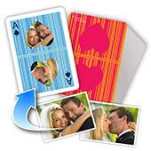Personalisierte Spielkarten - Ich liebe Dich (1, 13 oder 52 Fotos)