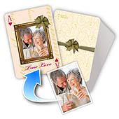 Personalisierte Spielkarten - Wahre Liebe (1, 13 oder 52 Fotos)