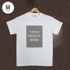 Weiß Liebe Treffer T-Shirt Hochformat Baumwolle Medium Gestalten