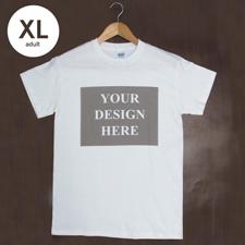Weiß Ehemann T-Shirt Personalisieren Baumwolle XL