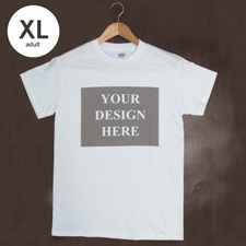 Hochzeit 2018 Weiß XL T-Shirt Baumwolle Querformat Gestalten
