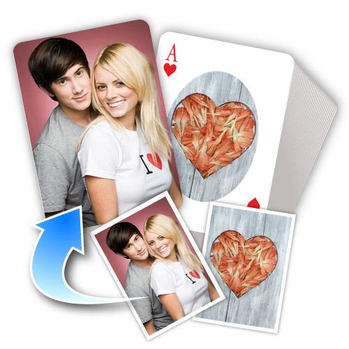 Liebe Selbstgestaltetes Kartenspiel