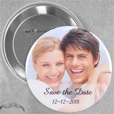 Fotobutton mit Botschaft Personalisieren 25,4 mm