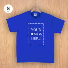 Keep calm und frag Mutti T-Shirt Personalisieren Größe S Small Blau