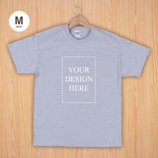 Keep calm und frag Mutti T-Shirt Personalisieren Größe M Medium Silber Grau