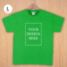 Keep calm und frag Mutti T-Shirt Personalisieren Größe L Large Grün