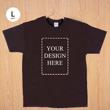 Keep calm und frag Mutti T-Shirt Personalisieren Größe L Large Braun