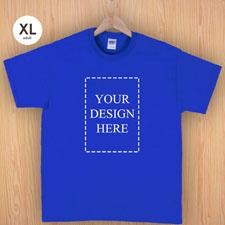Keep calm und frag Mutti T-Shirt Personalisieren Größe XL Blau