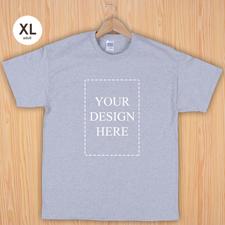 Keep calm und frag Mutti T-Shirt Personalisieren Größe XL Silber Grau