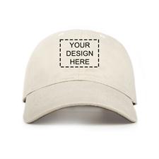 Khaki Kappe Personalisierte Vorderseite 43 - 61 cm