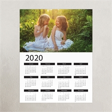 Poster Kalender 2018 Querformat Foto 27,9 x 35,6 cm
