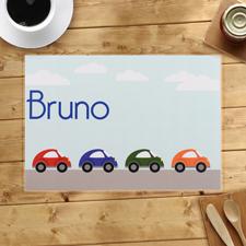 Autos Personalisierte Tischsets 410 x 285 mm