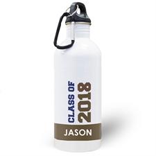Jahrgang 2018 Schokolade Wasserflasche zum Personalisieren