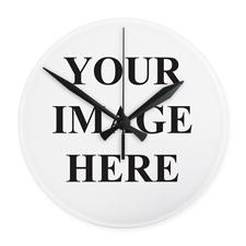 Runde Wanduhr Monogramm Personalisieren 24 cm