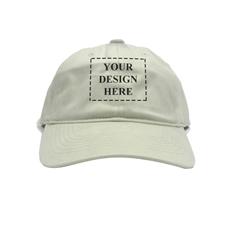Khaki Kappe  Vorderseite und Rückseite Personalisieren 43 - 61 cm