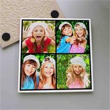 Mach mir einen Deckel Collage Vier Fotos