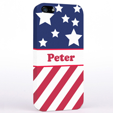 US Flagge iPhone5 Case