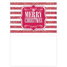 Strahlend Schöne Weihnachten Fotokarte Hochformat 127x178
