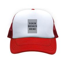 Hochformat Foto auf Kappe Rot
