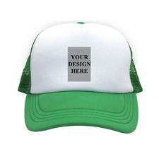 Hochformat Foto auf Kappe Grün
