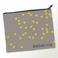 Gelb und Natur Punkte Farbmotive Makeup 20,3 x 25,4 cm