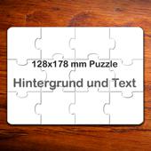 Kleine Puzzle - Einladungen (12,7 cm x 17,8 cm)