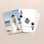 Hochzeitstag Spielkarten Großdruck
