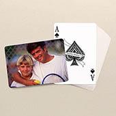 Vaters Personalisiertes Kartenspiel Hinten Querformat