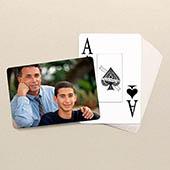 Vatertag Spielkarten Großdruck Querformat