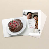 Vatertag Klassische Spielkarten beide Seiten gestalten