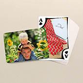 Vatertag Moderne Spielkarten Rückseite Querformat