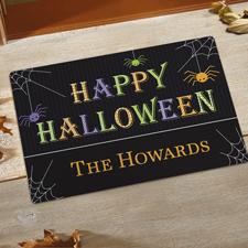 Happy Halloween Fußmatte Schmutzfangmatte Personalisieren