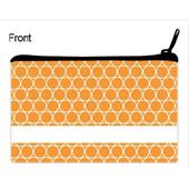 Orange Kreise Kosmetiktasache 12,7 x 20,3 cm Beidseitig gleich Personalisieren