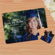 einladungskarten als fotopuzzle selbst gestalten und bedrucken, Kreative einladungen