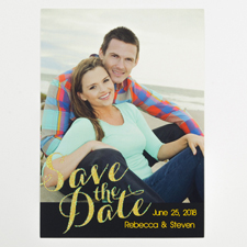 All unsere Liebe Valentinstag Pastel Fotokarte Personalisieren 127x178
