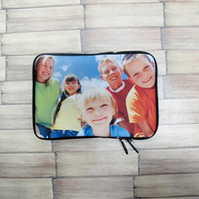 Blumen iPad Mini Tasche Querformat Einseitig Personalisieren 21,0 x 14,6 cm