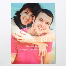 Silberner Moment Save the Date Einladungskarte Personalisieren 127x178