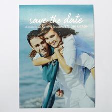 Ganz Schön Romantisch Silber Save the Date Einladungskarte Gestalten 127x178