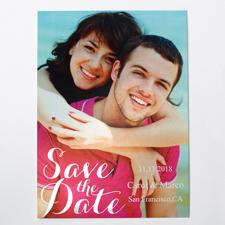 Silberrausch Save the Date Einladungskarte Gestalten 127x178