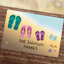 Familie Fußmatte Schmutzfangmatte Personalisieren 43x69cm