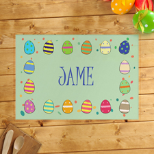 Frohe Ostern Platzdeckchen Junge Ostereier Personalisieren