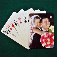 Hochzeitsspielkarten, Preiselbeere, Spitze