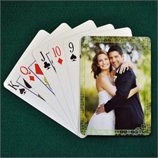 Hochzeitskartenspiel, Klassisch Grün