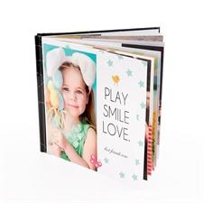 30,48 x 30,48 cm Personalisiertes Fotobuch layflat Bindung quadratisch