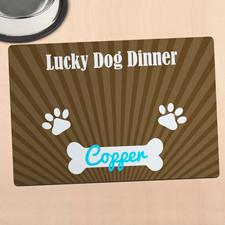 Fressplatz Glücklicher Hund Personalisieren